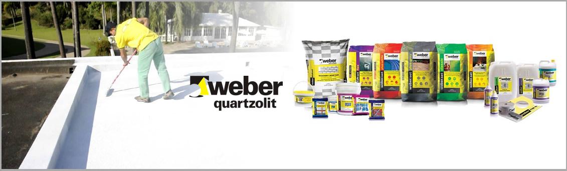 banner site weber quartzolit